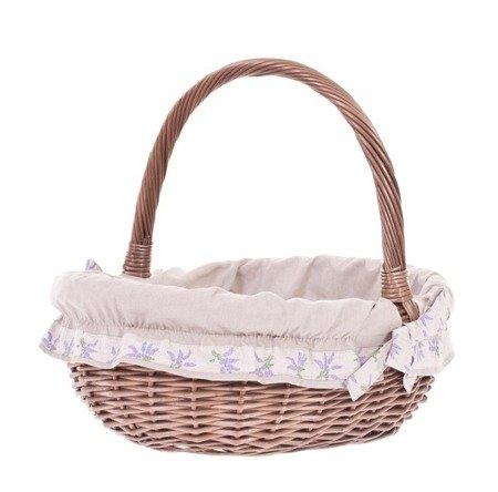 Gift wicker basket