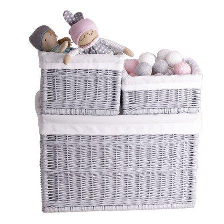 Set of Storage wicker baskets
