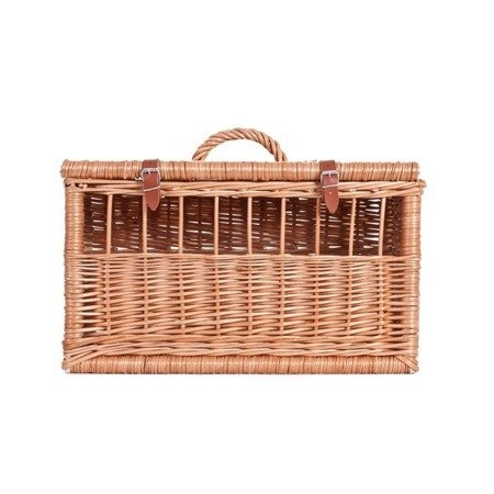 Wicker basket for animals