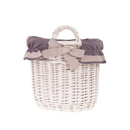 Wicker retro basket