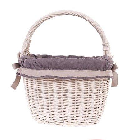 Wicker retro shopping basket