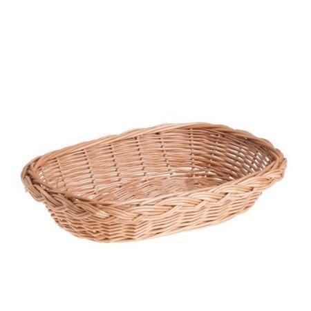 Brotkorb aus Weide oval