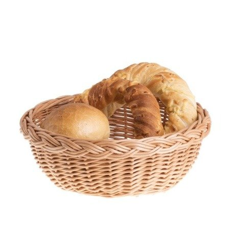 Brotkorb aus Weide rund