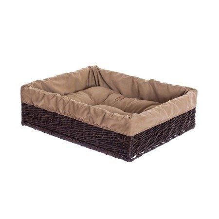 Prostokątne legowisko dla psa z poduszką